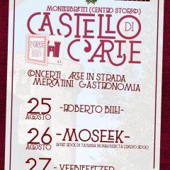Castello di C'Arte – 25/27 Agosto – Montelibretti