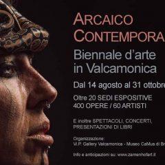Biennale d'arte in Valcamonica – Arcaico Contemporaneo – August/October 2021