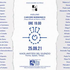 Kaos Antitesi del Silenzio – Form, Space, Time – September/October 2021