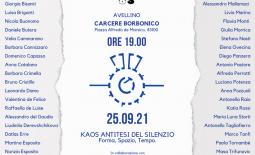 Kaos Antitesi del Silenzio – Forma, Spazio, Tempo – Settembre/Ottobre 2021